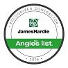 James Hardie Contractor Badge - Certifications and Accreditations