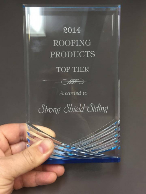 Strong Shield Siding Receives Another Award - Strong Shield Siding Receives Another Award