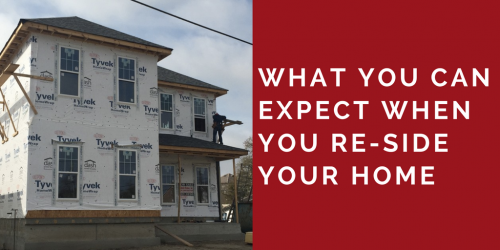 what to expect when we re-side your home, strong shield siding