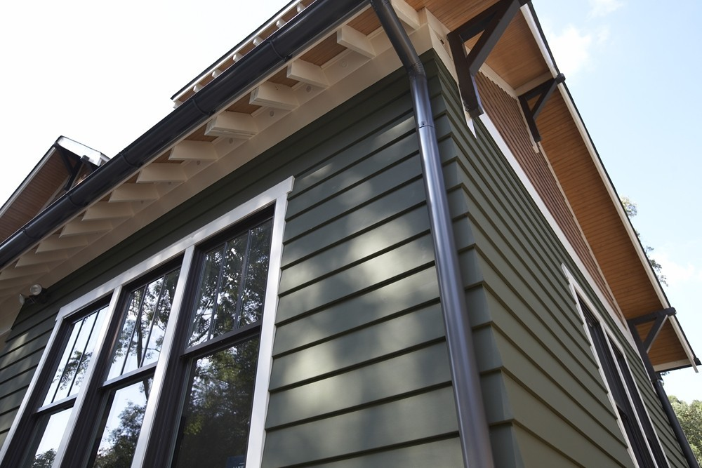 Green Hardie Siding - Strong Shield