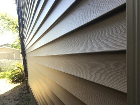 Vinyl Siding on home in New Orleans - Strong Shield