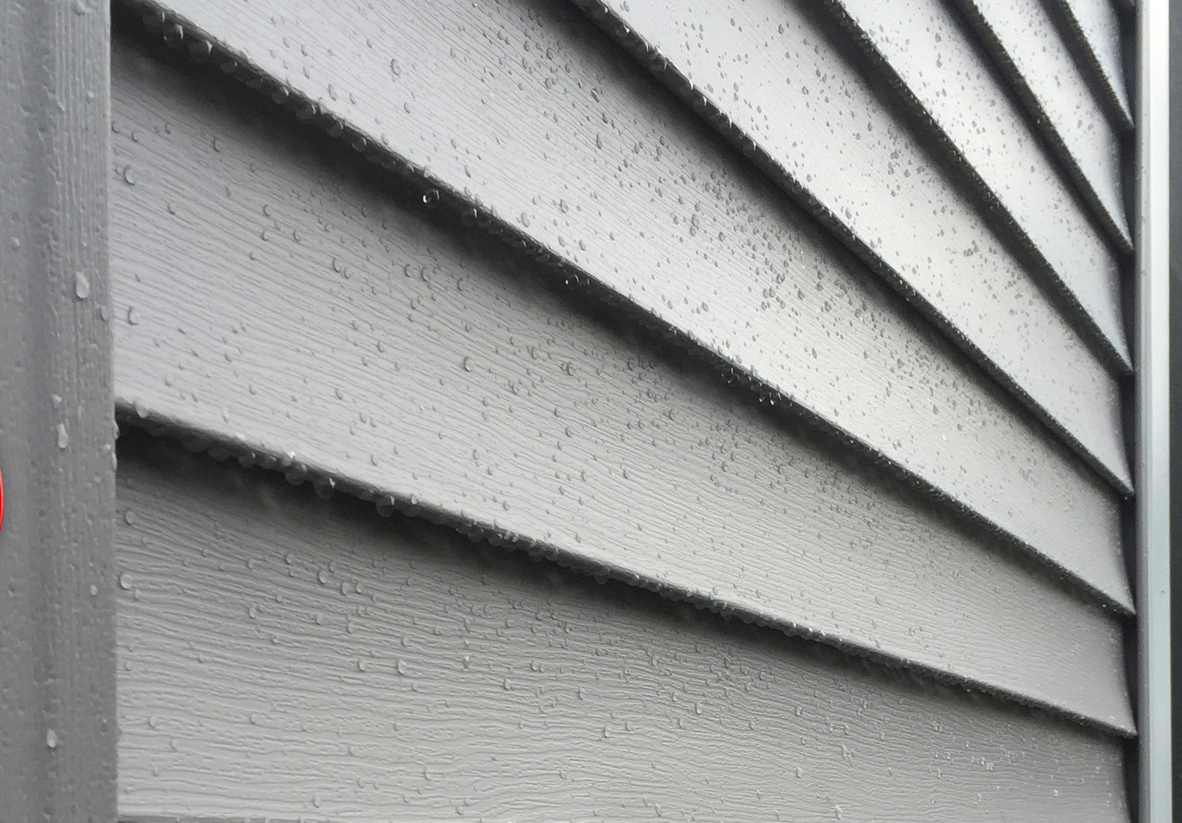 Close Up Grey Vinyl Siding in New Orleans - Strong Shield