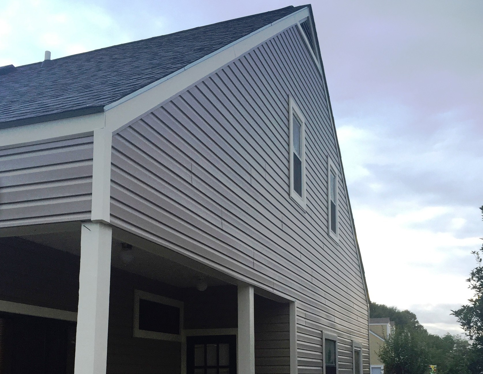 Vinyl Siding on Two Story in New Orleans