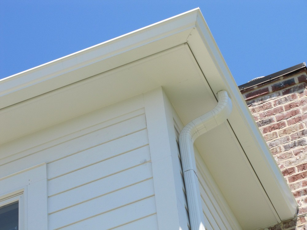 Matching gutters in New Orleans - Strong Shield