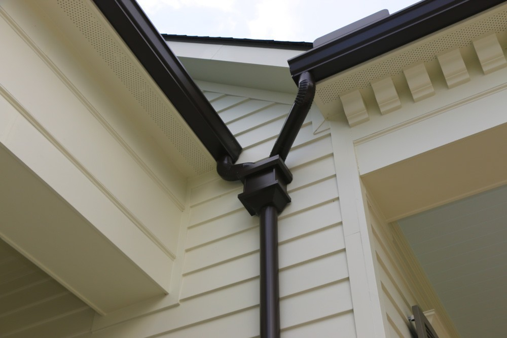 Joint downspout for gutters in New Orleans - Strong Shield