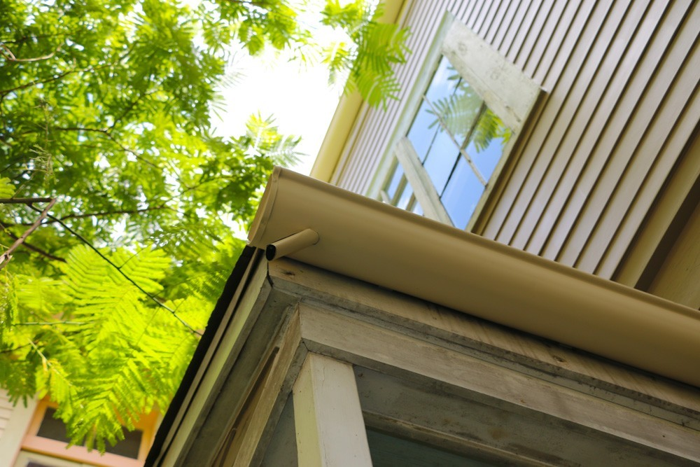 Gutters with openening in New Orleans - Strong Shield