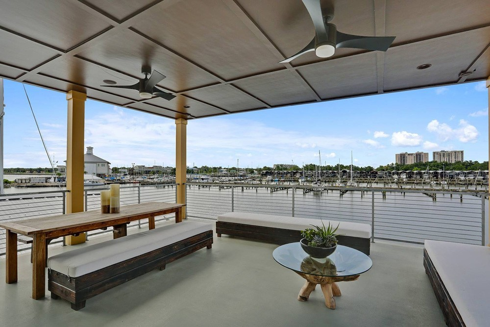 Over water deck on New Orleans Lakefront - Strong Shield