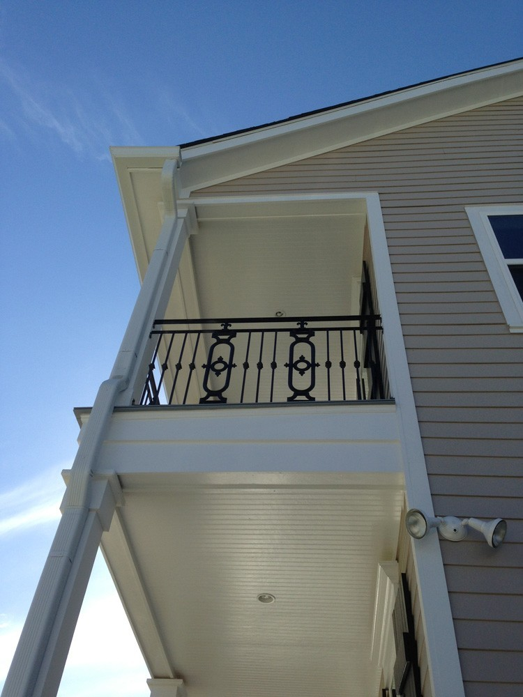 Matching porch and balcony bead board ceiling - Strong Shield