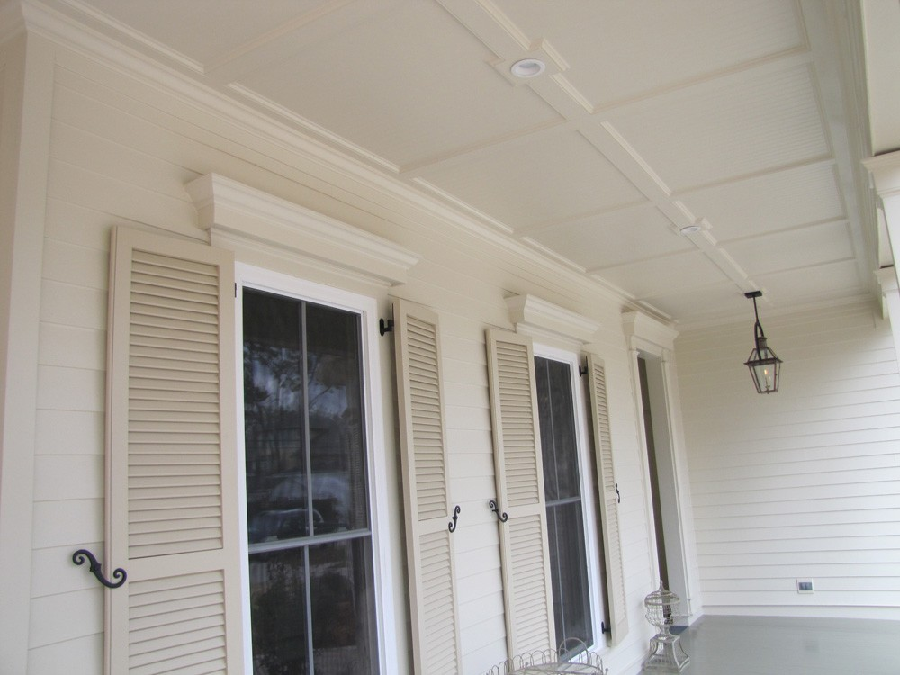 Antique southern style porch in Metairie - Strong Shield