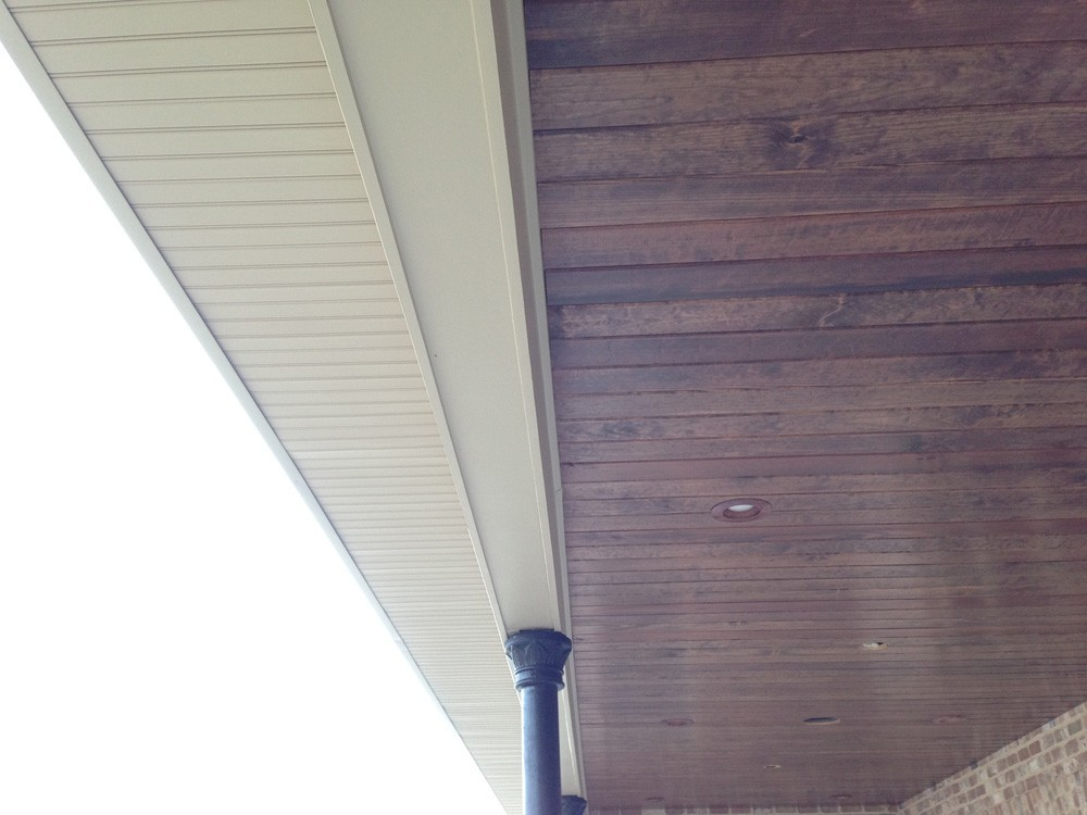 New Orleans wood porch ceiling - Strong Shield