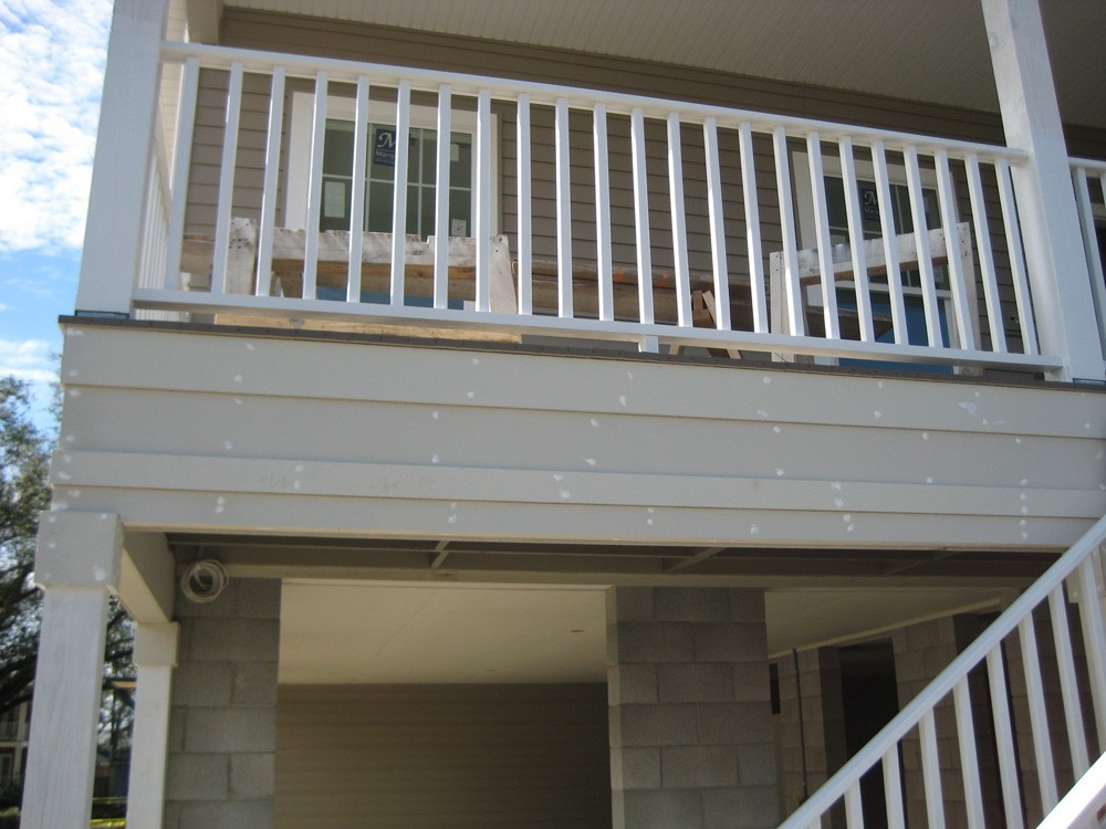 Porch and patio in New Orleans - Strong Shield