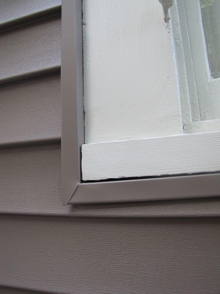 Window trim painted in New Orleans - Strong Shield