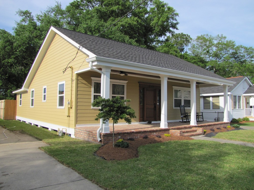 Repainted exterior Metairie home - Strong Shield