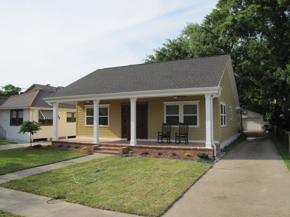 Metairie home repainted - Strong Shield