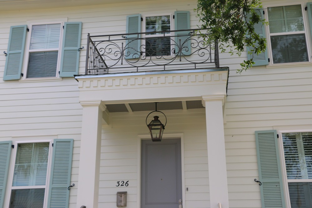 Custom pastel paint job for New Orleans home - Strong Shield