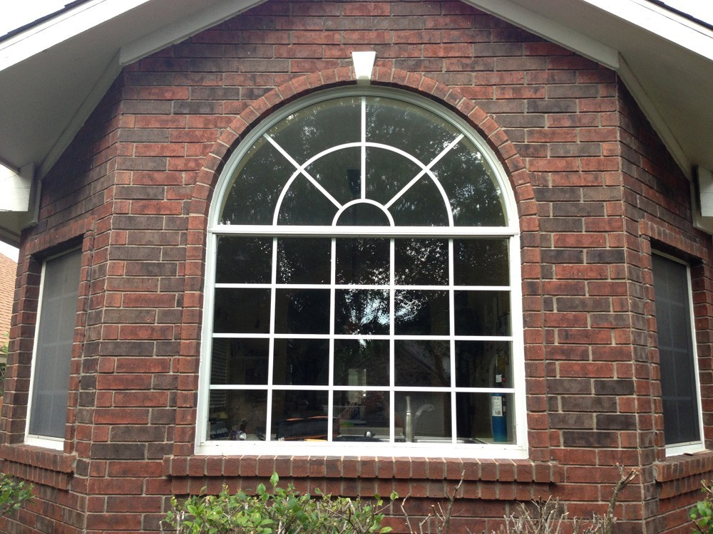 Arched window replacement in Metairie - Strong Shield