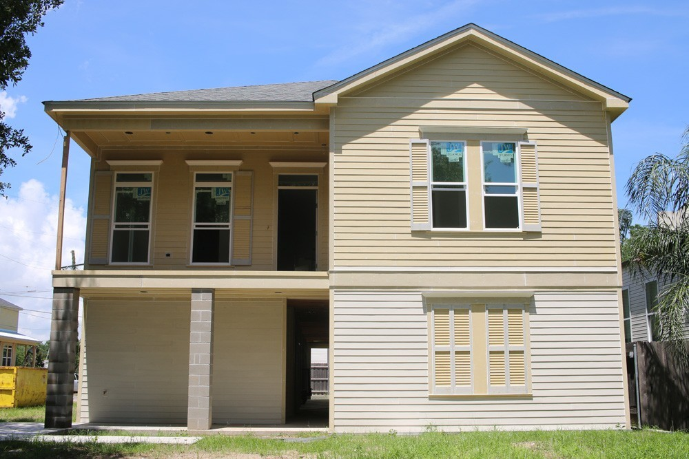 Shutters on New Orleans two story home - Strong Shield