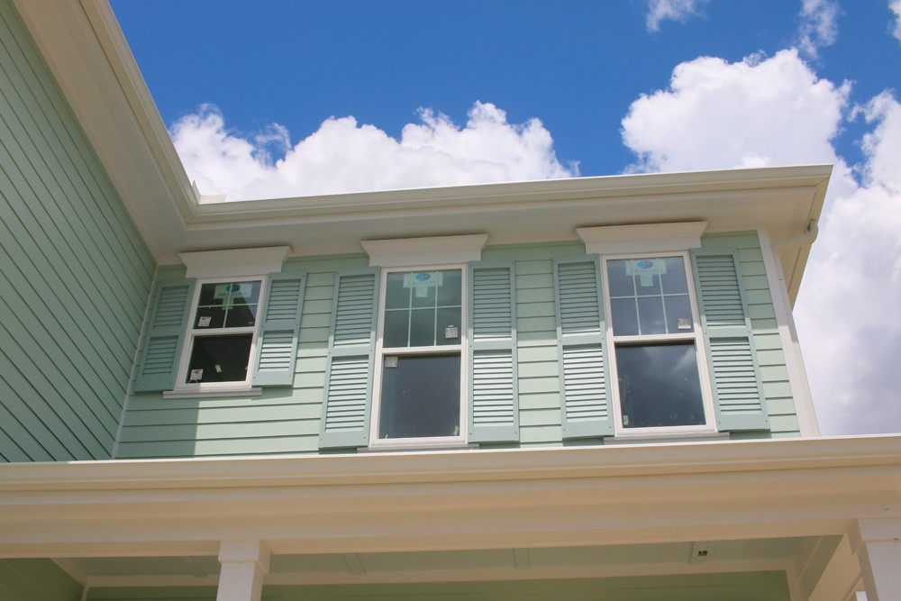 Shutters on different sized windows - Strong Shield