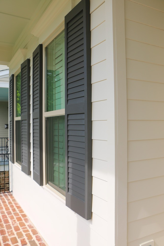 Shutters on traditional style New Orleans home - Strong Shield