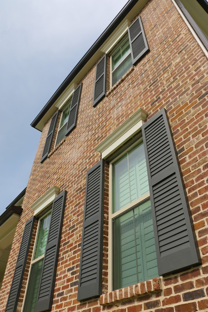 Traditional shutters on New Orleans home - Strong Shield