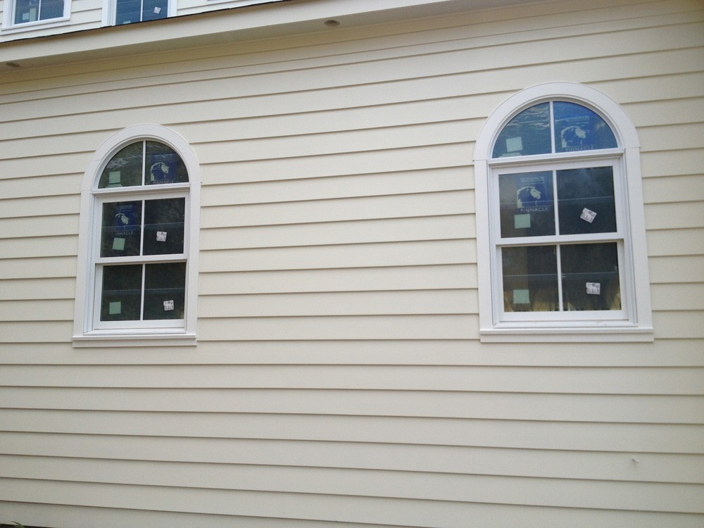 Decorative window trim on Metairie home - Strong Shield
