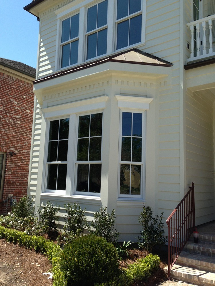 Craftsman style trim work with dentil details - Strong Shield