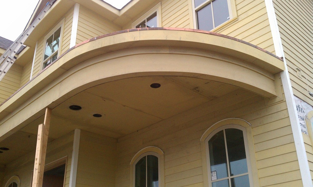 Decorative trim on New Orleans home - Strong Shield