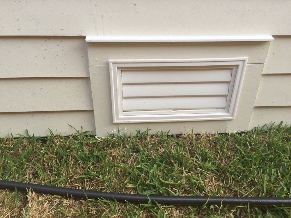 Craftsman trimmed foundation vent - Strong Shield