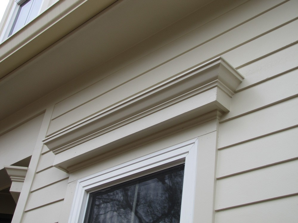 Craftsman window trim on Metairie home - Strong Shield
