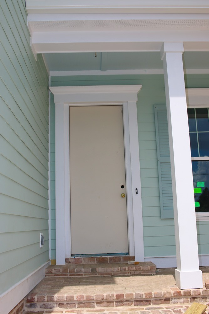 Craftsman columns and front door trim - Strong Shield
