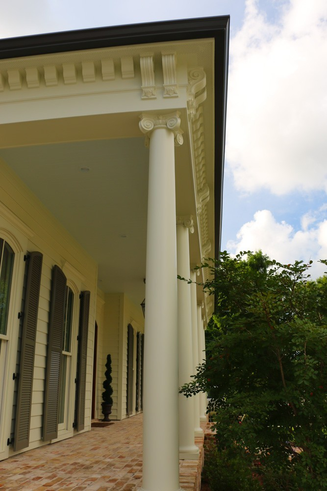 French style porch trim and columns - Strong Shield
