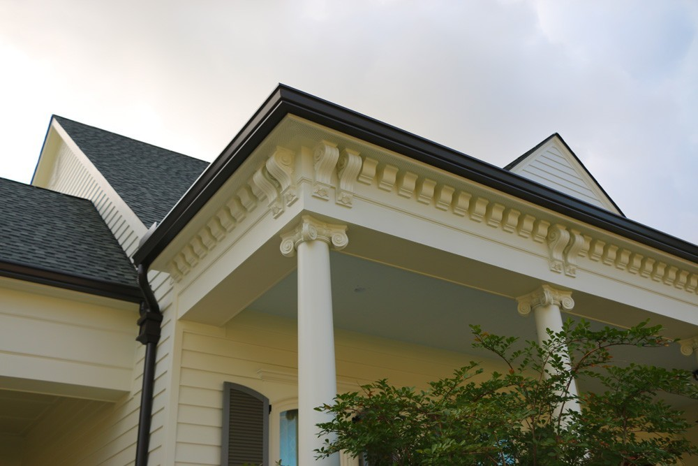 Grecian style molding around soffits - Strong Shield