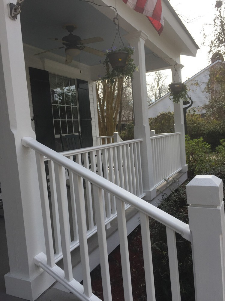 Front porch railing and banisters - Strong Shield